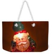 Santa Claus - Antique Ornament - 06 Weekender Tote Bag by Jill Reger