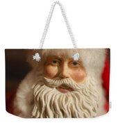 Santa Claus - Antique Ornament - 07 Weekender Tote Bag
