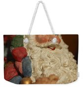 Santa Claus - Antique Ornament - 09 Weekender Tote Bag by Jill Reger