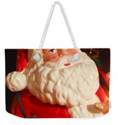 Santa Claus - Antique Ornament - 13 Weekender Tote Bag