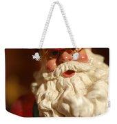 Santa Claus - Antique Ornament - 16 Weekender Tote Bag