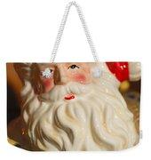 Santa Claus - Antique Ornament - 19 Weekender Tote Bag