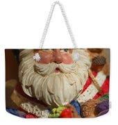 Santa Claus - Antique Ornament - 20 Weekender Tote Bag by Jill Reger