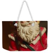 Santa Claus - Antique Ornament - 21 Weekender Tote Bag