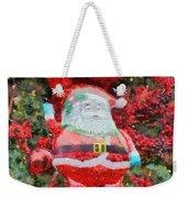 Santa Claus Balloon Weekender Tote Bag