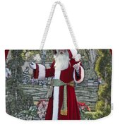 Santa Claus Walt Disney World Oval Weekender Tote Bag