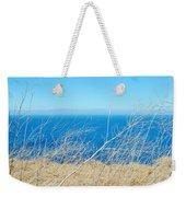 Santa Cruz Island Sea Of Grass Weekender Tote Bag