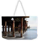 Santa Cruz Pier California Weekender Tote Bag