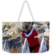 Santa Dog-2 Weekender Tote Bag