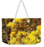 Santa Fe Yellow Weekender Tote Bag