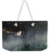 Santa Is Coming Weekender Tote Bag