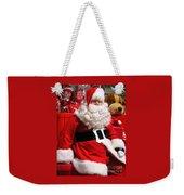 Santa Is Ready Weekender Tote Bag