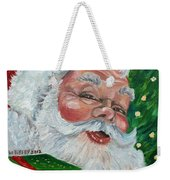 Santa Weekender Tote Bag