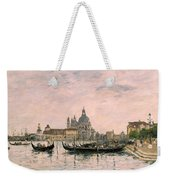 Santa Maria Della Salute And The Dogana Weekender Tote Bag