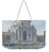 Santa Maria Della Salute Weekender Tote Bag by Julian Barrow