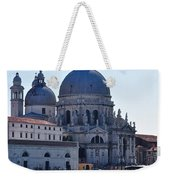 Santa Maria Della Salute Surrounded By Sparkling Waters Weekender Tote Bag