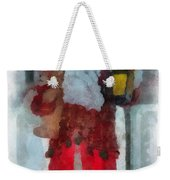 Santa Merry Christmas Photo Art 02 Weekender Tote Bag