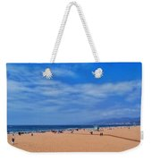 Santa Monica Beach California Weekender Tote Bag