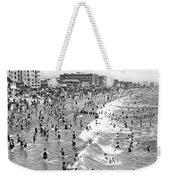 Santa Monica Beach In December Weekender Tote Bag