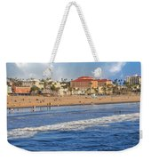 Santa Monica Beach View  Weekender Tote Bag