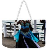 Santa Monica Belly Dancer Weekender Tote Bag