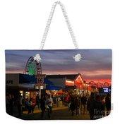 Santa Monica Pier I By Diana Sainz Weekender Tote Bag