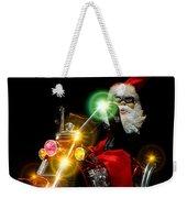 Santa Motoring Weekender Tote Bag