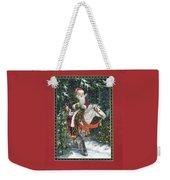 Santa Of The Northern Forest Weekender Tote Bag