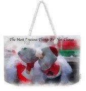 Santa The Most Precious Photo Art Weekender Tote Bag