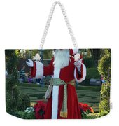 Santa Walt Disney World Weekender Tote Bag