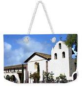 Santa Ynez Mission Solvang California Weekender Tote Bag