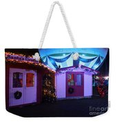 Santa's Grotto In The Winter Gardens Bournemouth Weekender Tote Bag