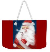 Santa's List Weekender Tote Bag