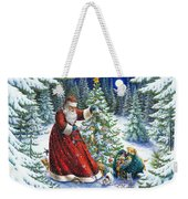 Santa's Little Helpers Weekender Tote Bag