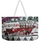 Santa's Truckload Weekender Tote Bag