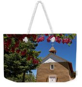 Santisima De Trinidad Mission Church Weekender Tote Bag