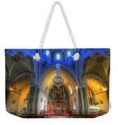 Santorini Cathedral  Weekender Tote Bag