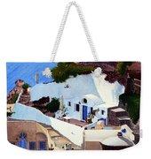 Santorini Cave Homes Weekender Tote Bag