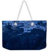 Santorini Greece Weekender Tote Bag