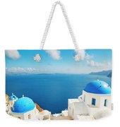 Santorini Island, Greece, Beautiful Weekender Tote Bag