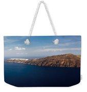 Santorini Panorama Weekender Tote Bag