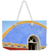 Santorini Window Weekender Tote Bag