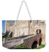 Sao Jorge Castle In Lisbon Weekender Tote Bag