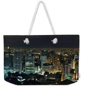 Sao Paulo Downtown From Terraco Italia Weekender Tote Bag