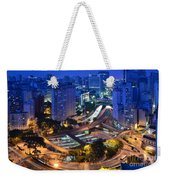 Sao Paulo Skyline - Downtown Weekender Tote Bag