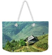 Sapa Rice Fields Weekender Tote Bag