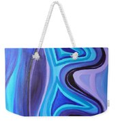 Sapphire Passion - Luminescent Light Weekender Tote Bag
