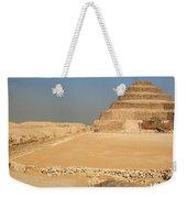 Saqqara Step Pyramid Weekender Tote Bag