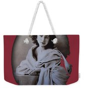 Sarah Bernhardt Photo By Nadar C.1860 Weekender Tote Bag
