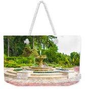 Sarah Lee Baker Perennial Garden 5 Weekender Tote Bag